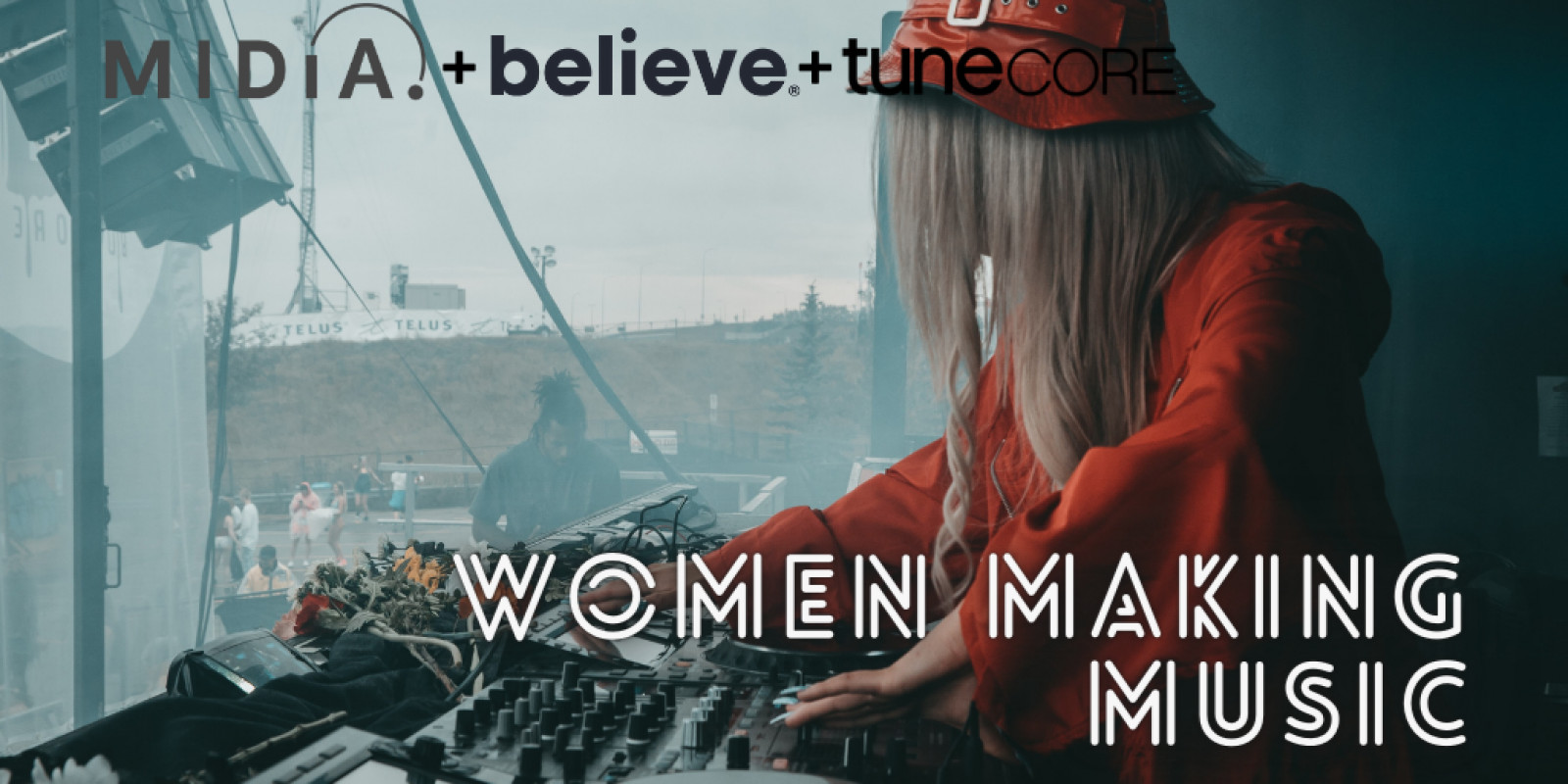 Cover image for Women making music