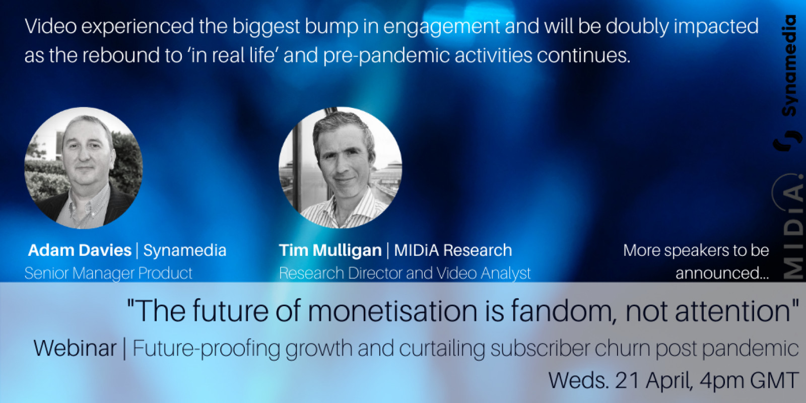 Cover image for Webinar April 21-22: the future is monetising fandom, not attention