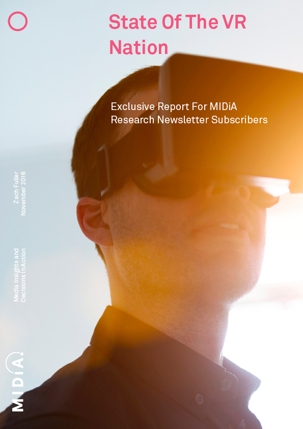Cover image for Black Friday Offer: Free MIDiA VR Report