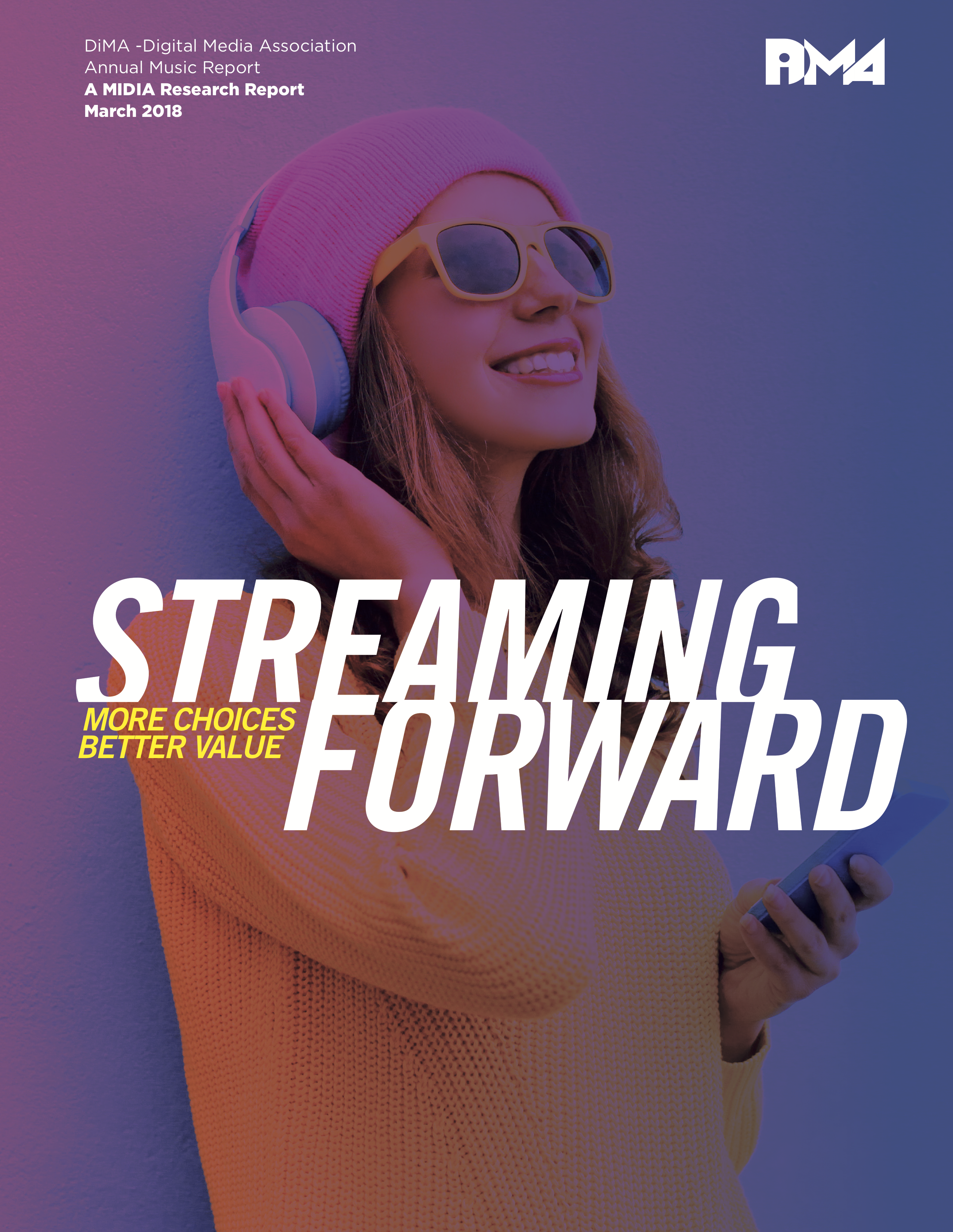 Cover image for Free Report: Digital Music Is Streaming Forward