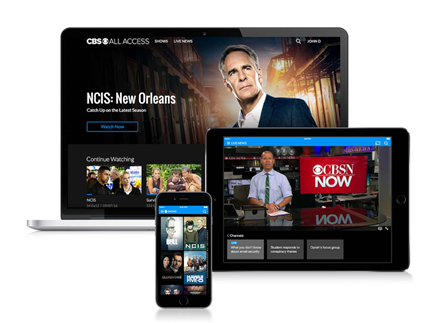 Cover image for CBS Launches International SVOD Foray with All Access in Canada