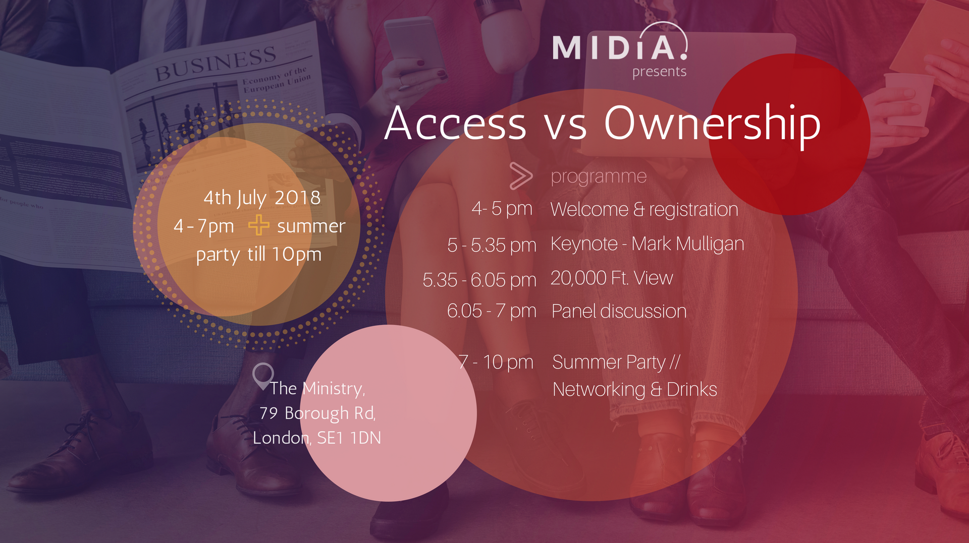 Cover image for Access To Ownership: MIDiA's Free to Attend Event