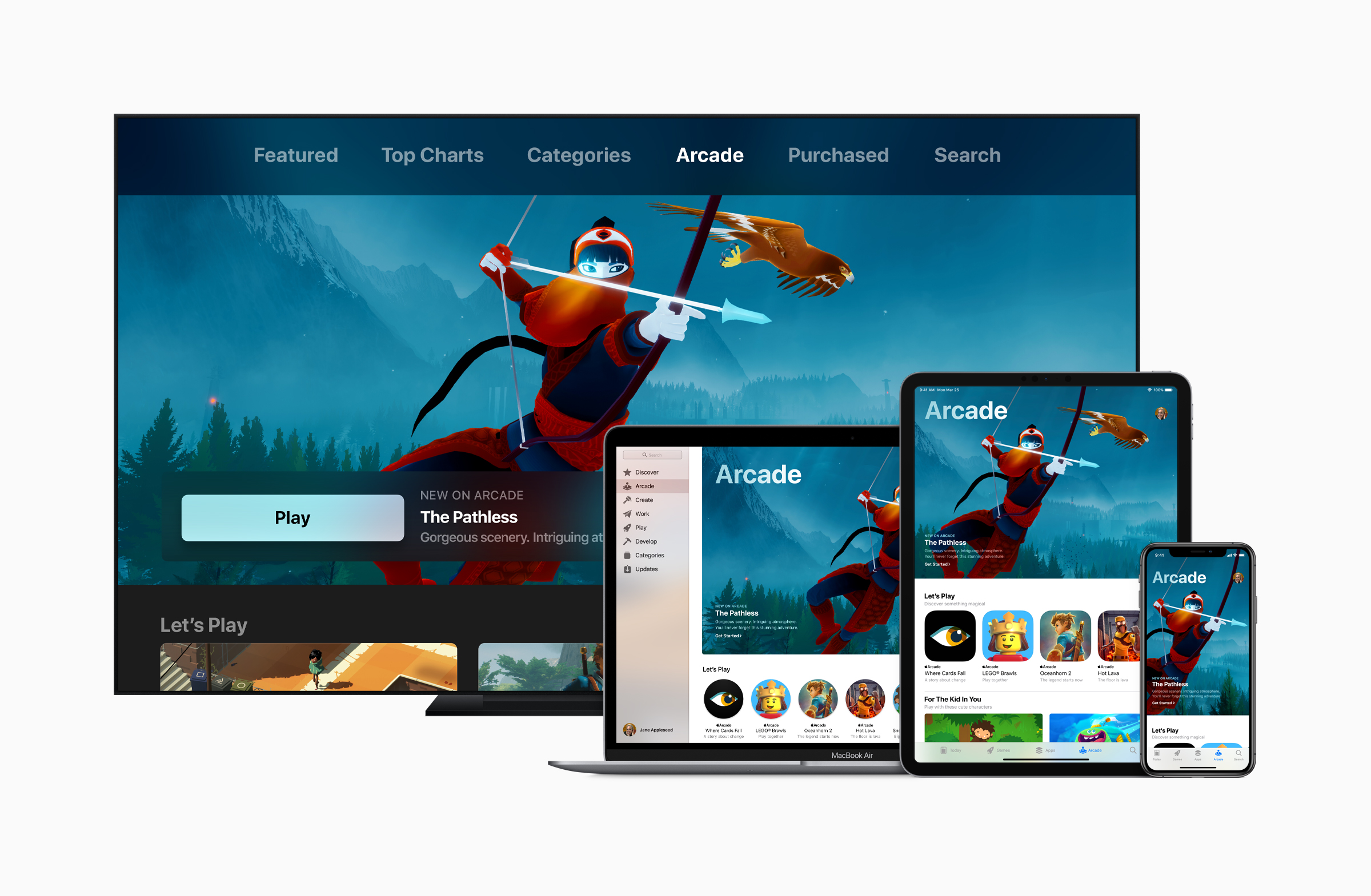 Cover image for Apple Joins The Games Subscription Race With Arcade