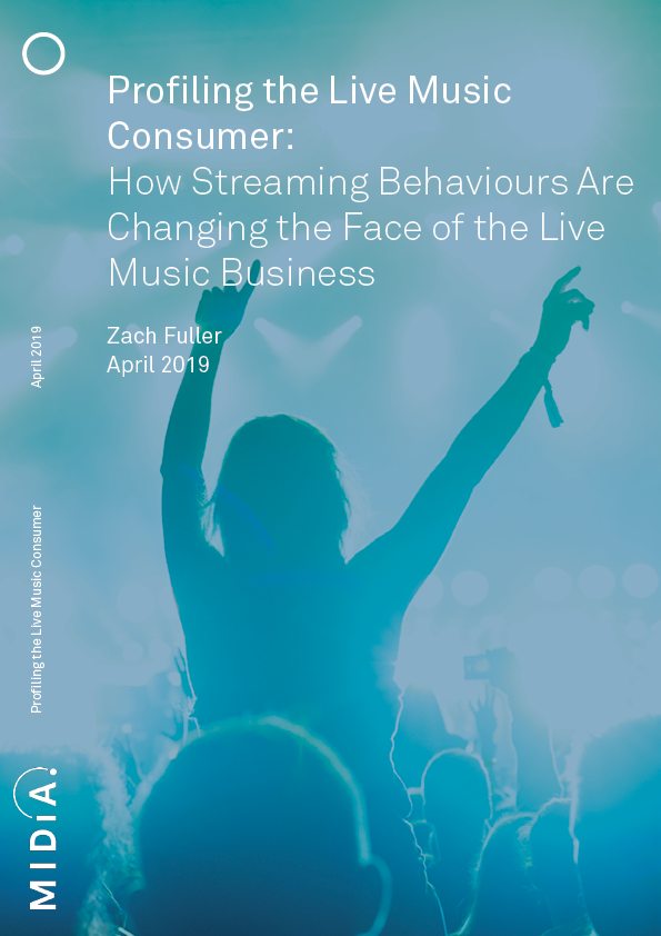Cover image for Profiling the Live Consumer: Streaming and the Live Music Business