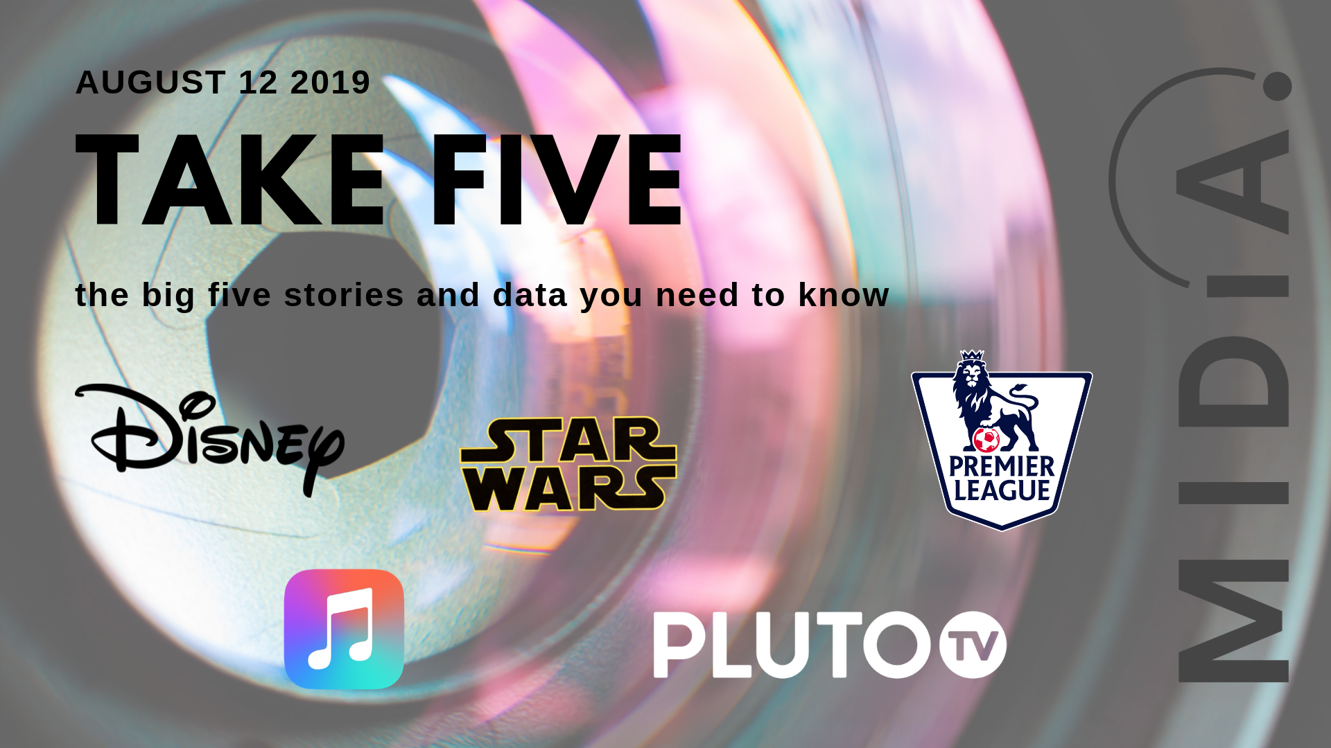 Cover image for Take Five (The Big Five Stories and Data You Need to Know)