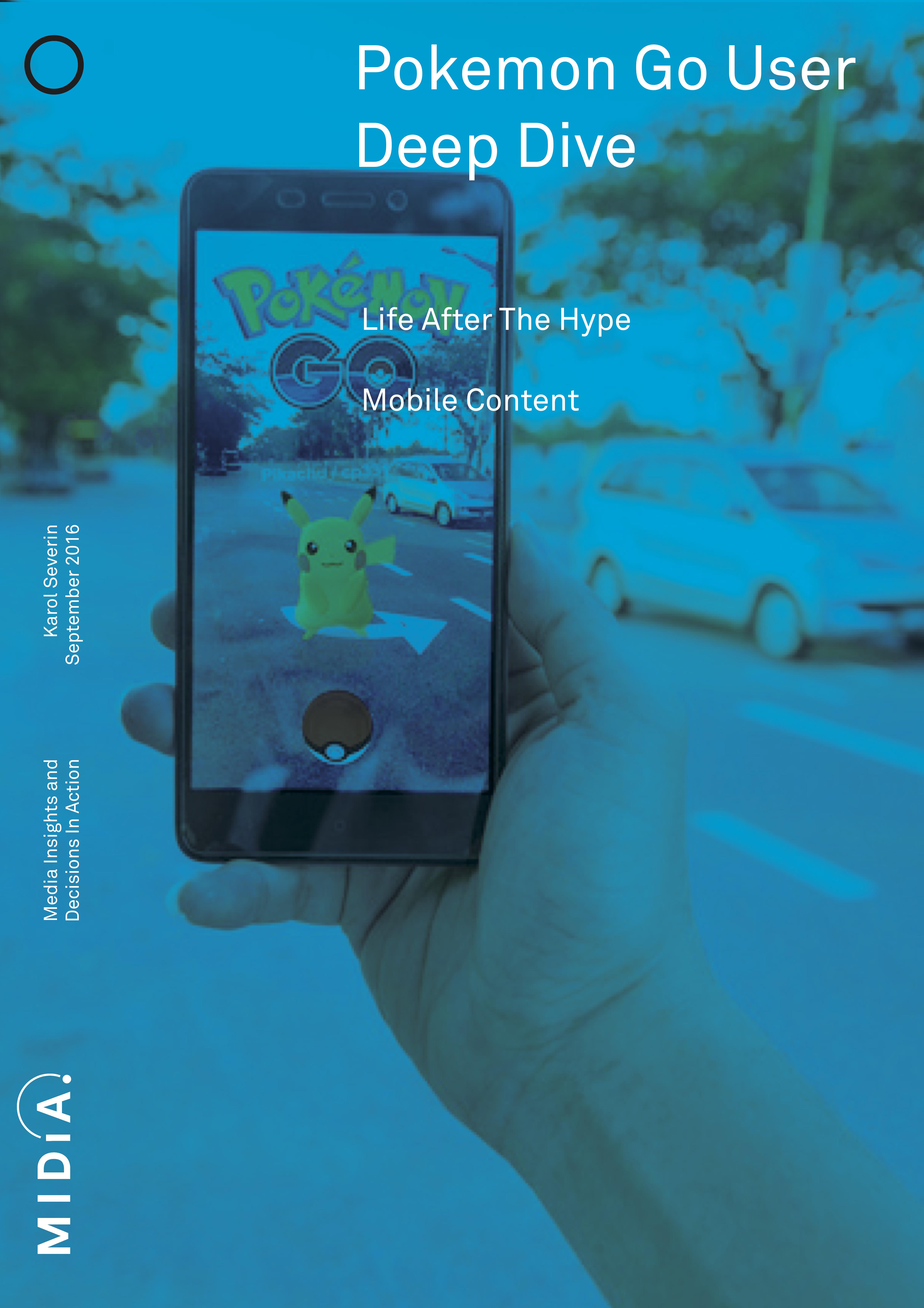Cover image for Pokémon Go User Deep Dive