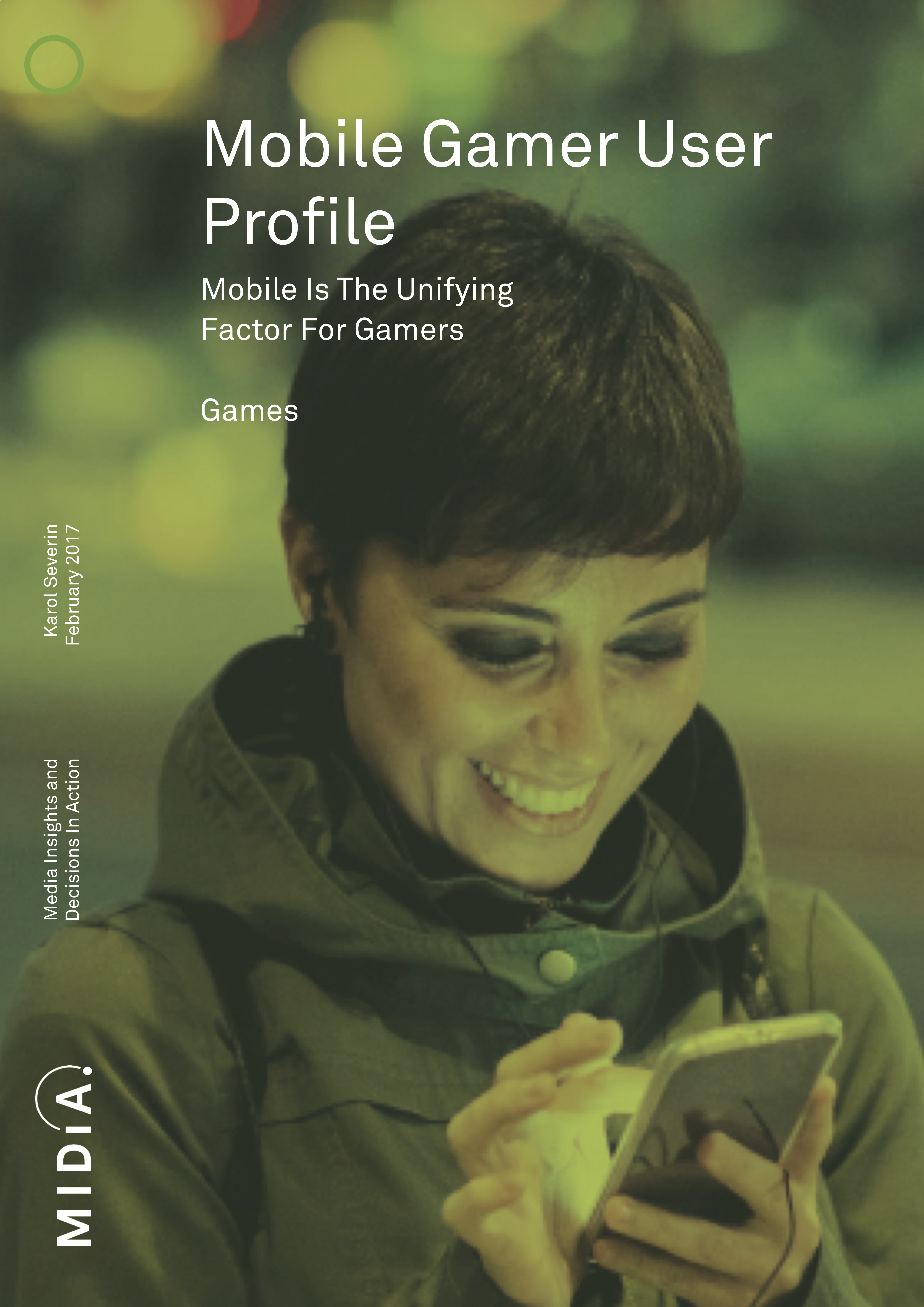 Cover image for Mobile Gamer User Profile
