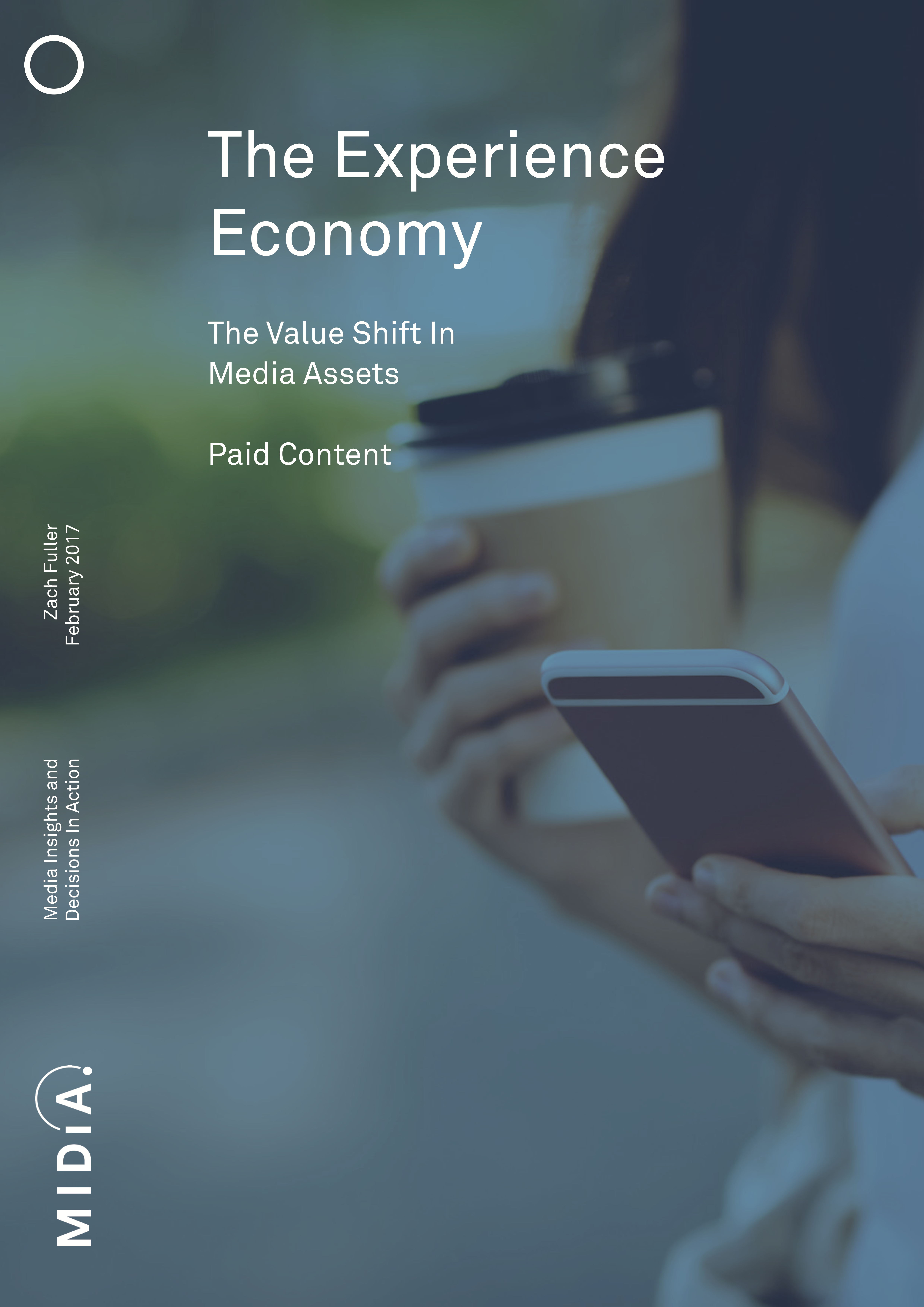 Cover image for The Experience Economy