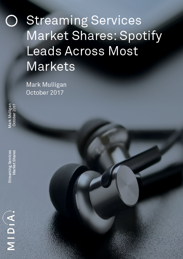Cover image for Streaming Services Market Shares
