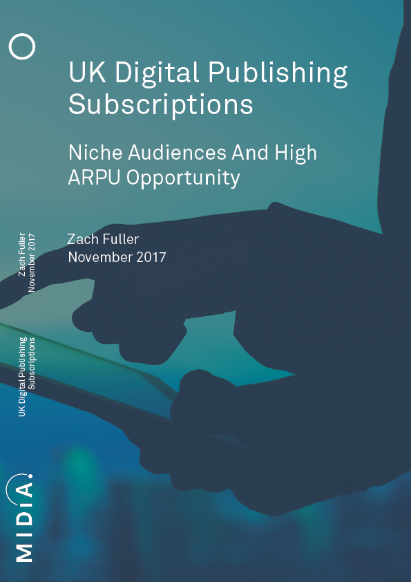 Cover image for UK Digital Publishing Subscriptions