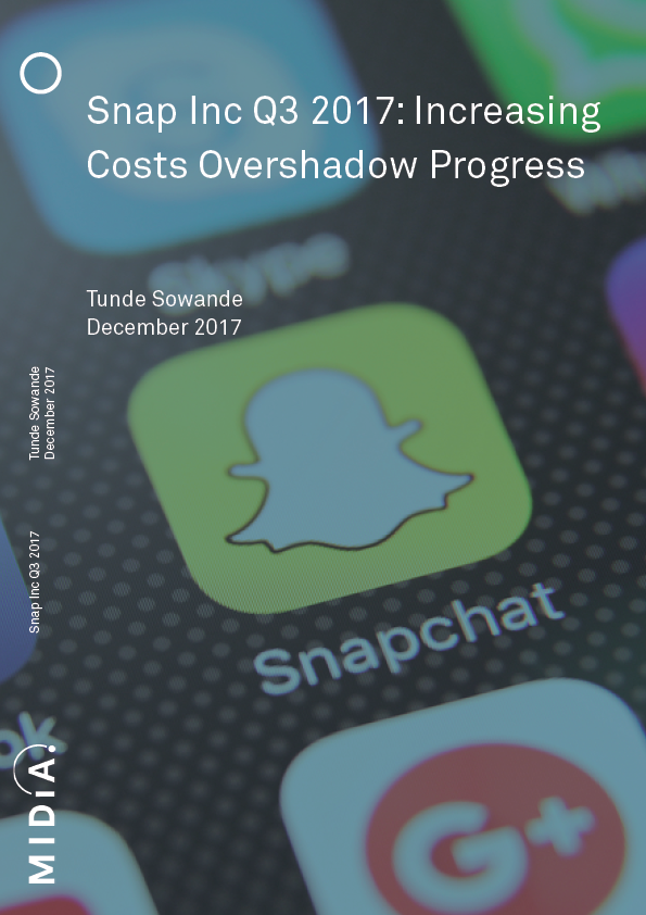 Cover image for Snap Inc Q3 2017