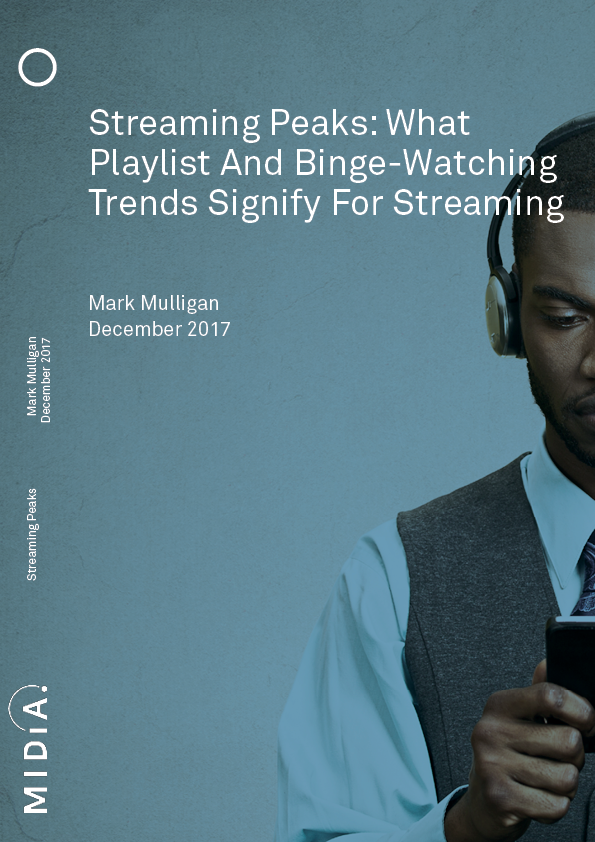 Cover image for Streaming Peaks