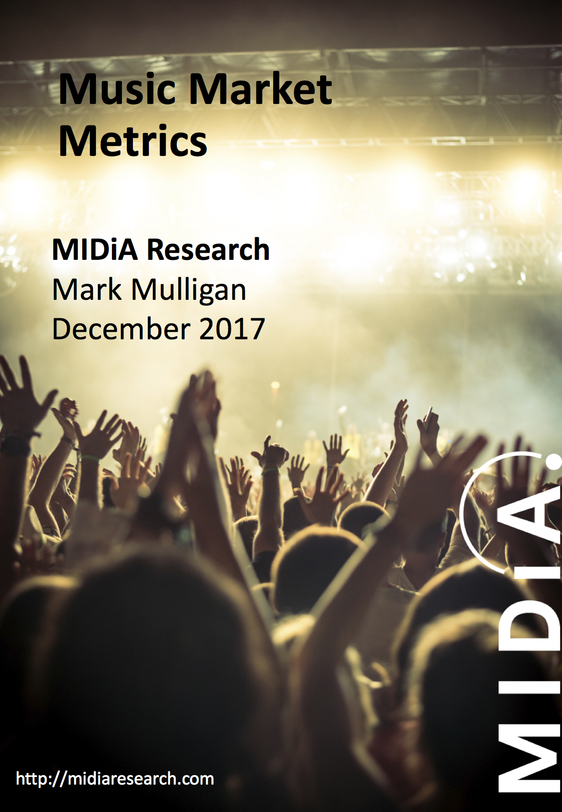 Cover image for MIDiA Research Music Market Metrics