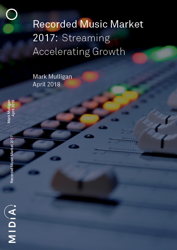Cover image for Recorded Music Market 2017