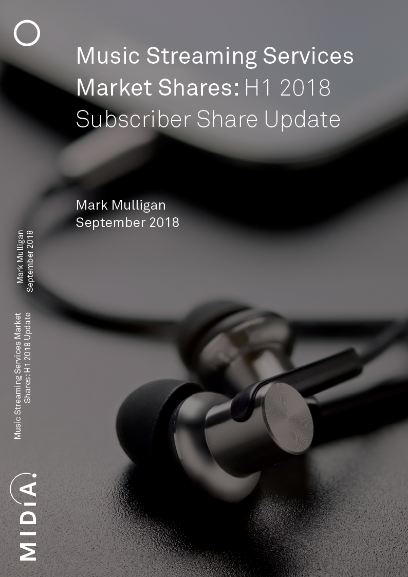 Cover image for Music Streaming Services Market Shares