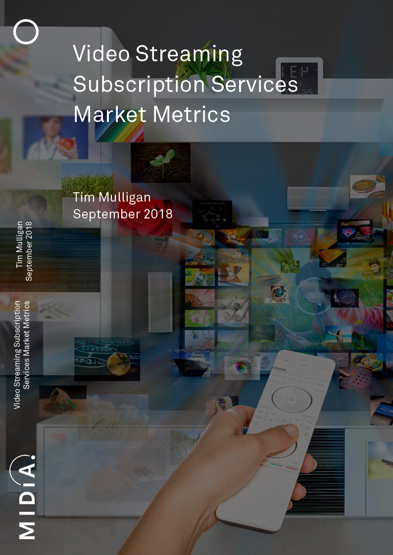 Cover image for Video Streaming Subscription Services Market Metrics
