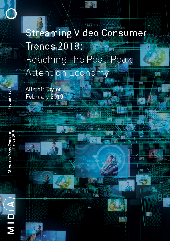 Cover image for Streaming Video Consumer Trends Q4 2018