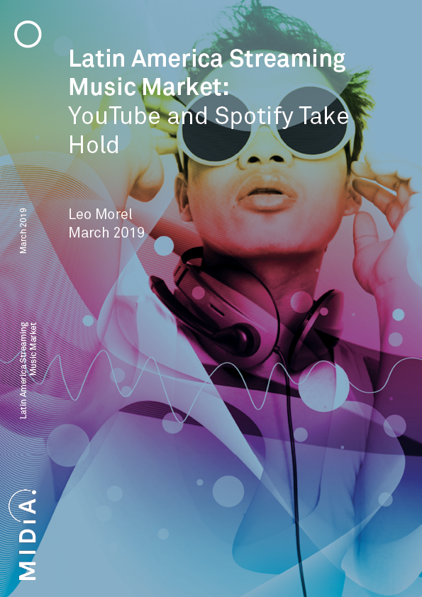 Cover image for Latin America Streaming Music Market