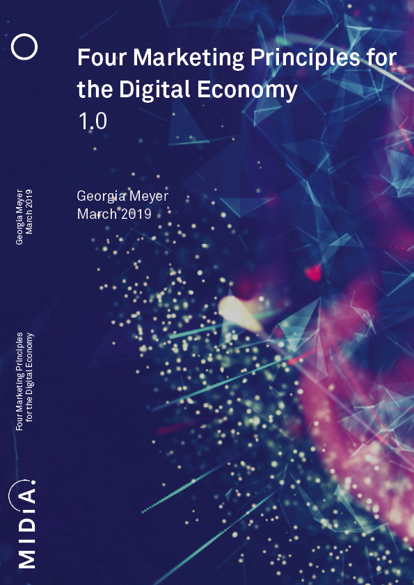 Cover image for Four Marketing Principles for the Digital Economy