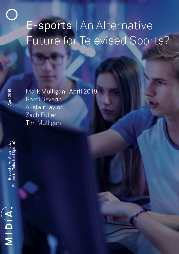 Cover image for E-sports