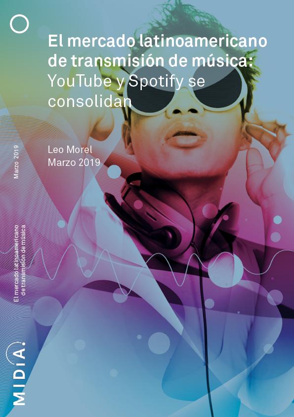 Cover image for El mercado latinoamericano de transmisión de música