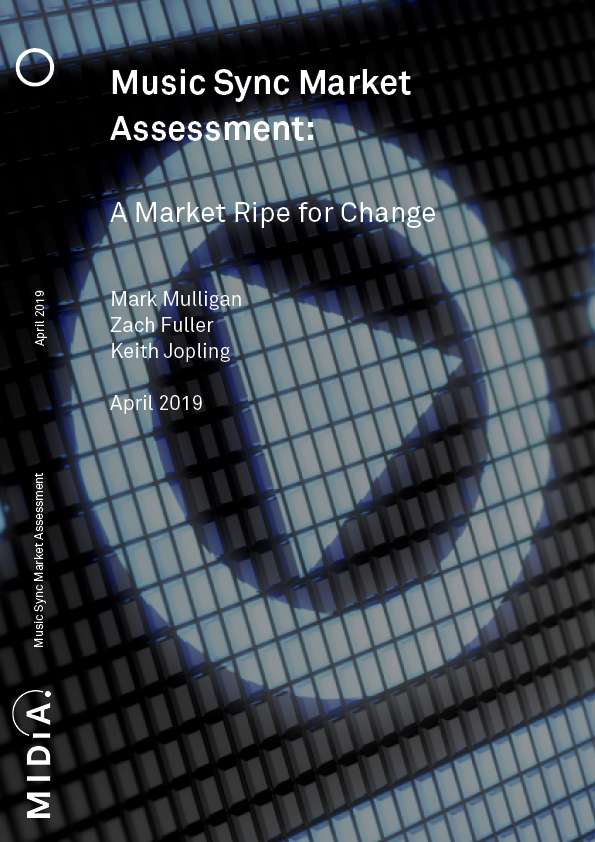 Cover image for Music Sync Market Assessment