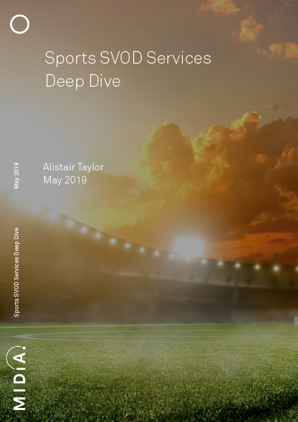 Cover image for Sports SVOD Services Deep Dive