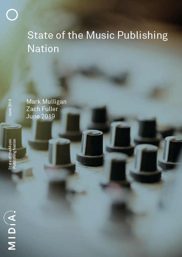 Cover image for State of the Music Publishing Nation