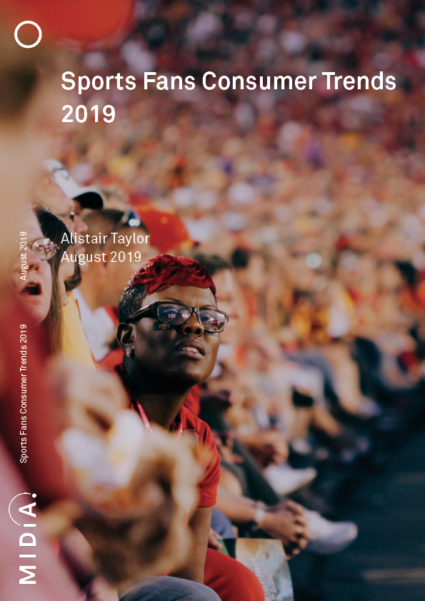 Cover image for Sports Fans Consumer Trends 2019