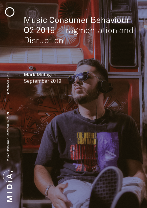 Cover image for Music Consumer Behaviour Q2 2019