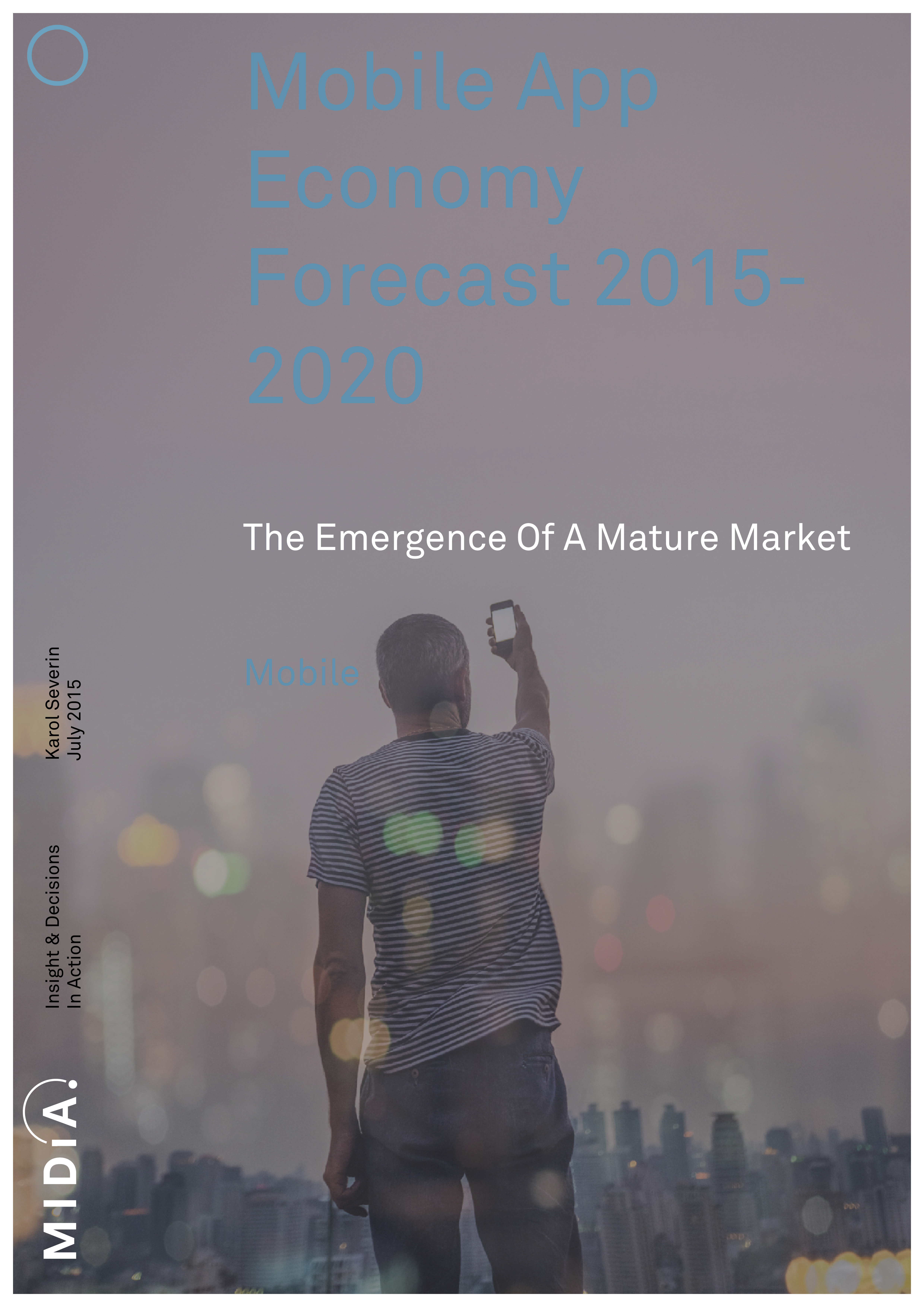 Cover image for Mobile App Economy Forecast 2015-2020