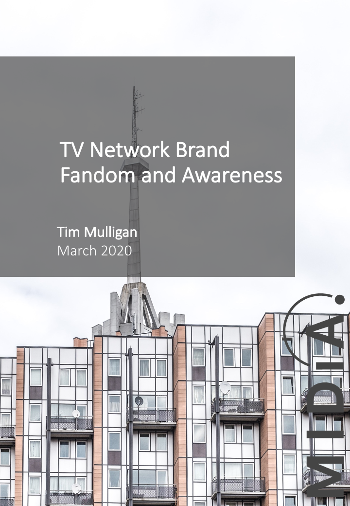 Cover image for TV Network Brand Fandom and Awareness