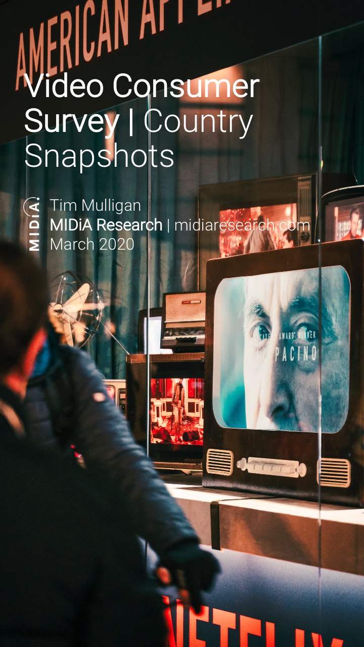 Cover image for Video Consumer Survey