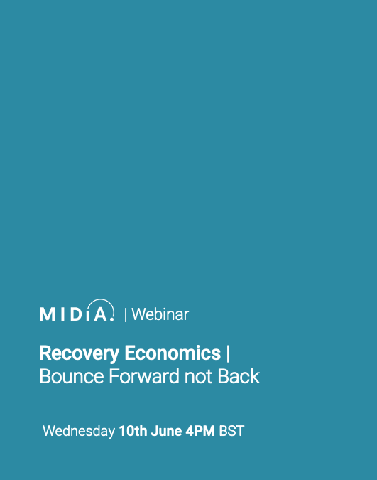 Cover image for Recovery Economics |Bounce Forward not Back