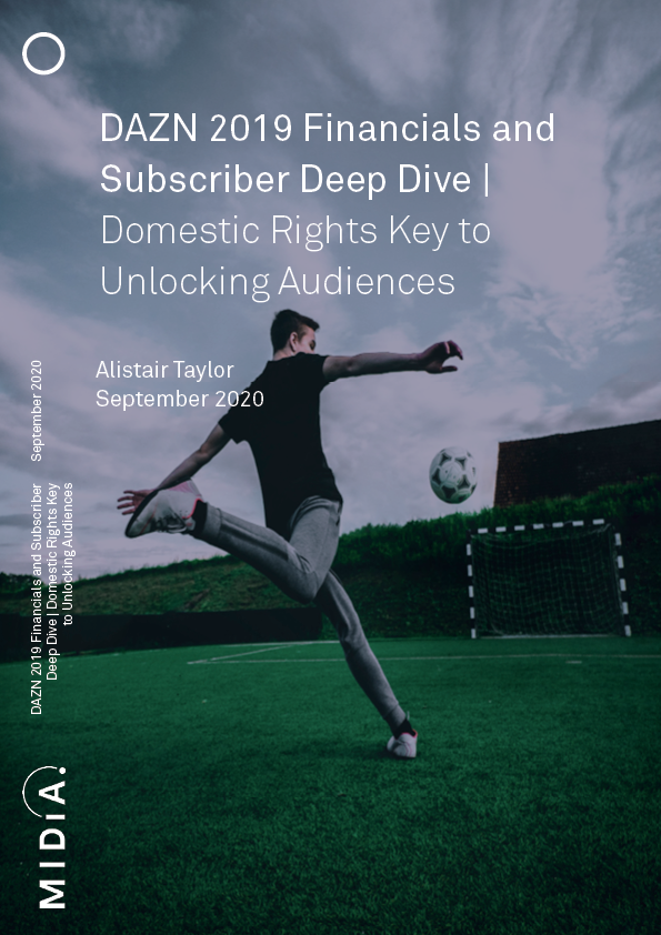 Cover image for DAZN 2019 Financials and Subscriber Deep Dive