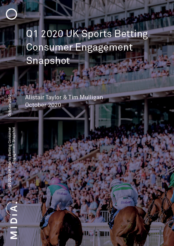 Cover image for Q1 2020 UK Sports Betting Consumer Engagement Snapshot