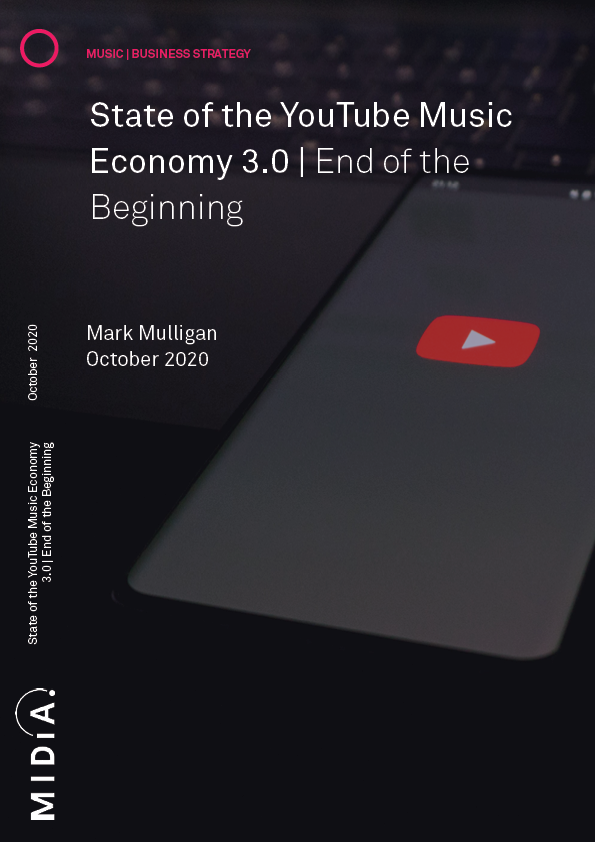 Cover image for State of the YouTube Music Economy 3.0 -