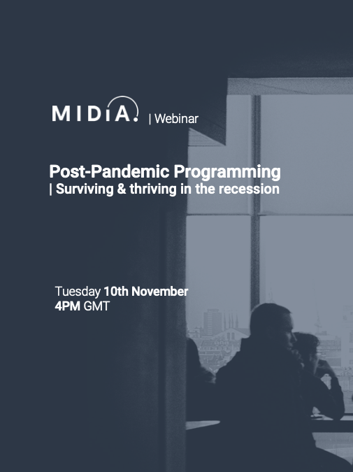 Cover image for Post-Pandemic ProgrammingWebinar Presentation