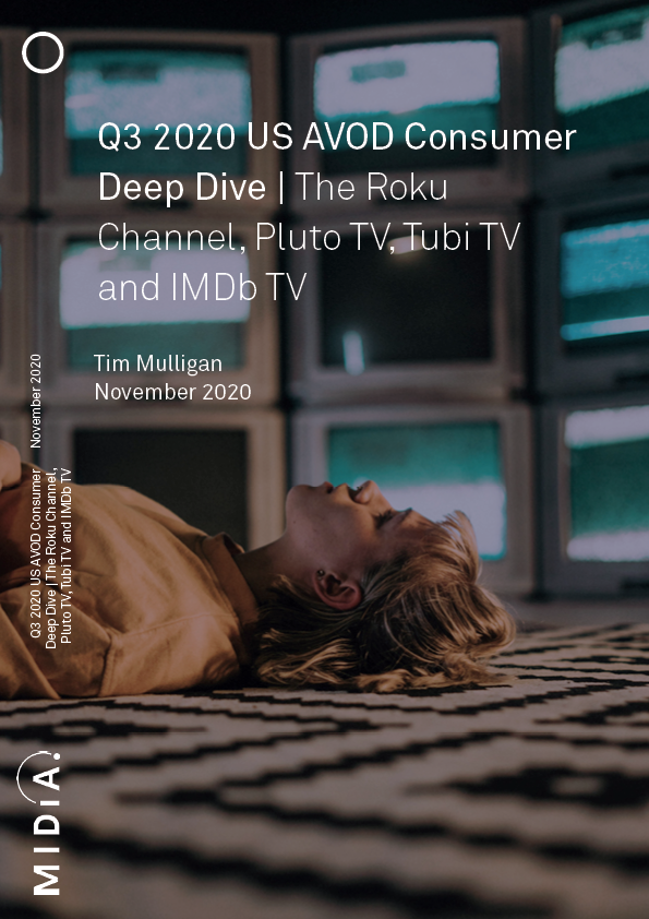 Cover image for Q3 2020 US AVOD Consumer Deep Dive