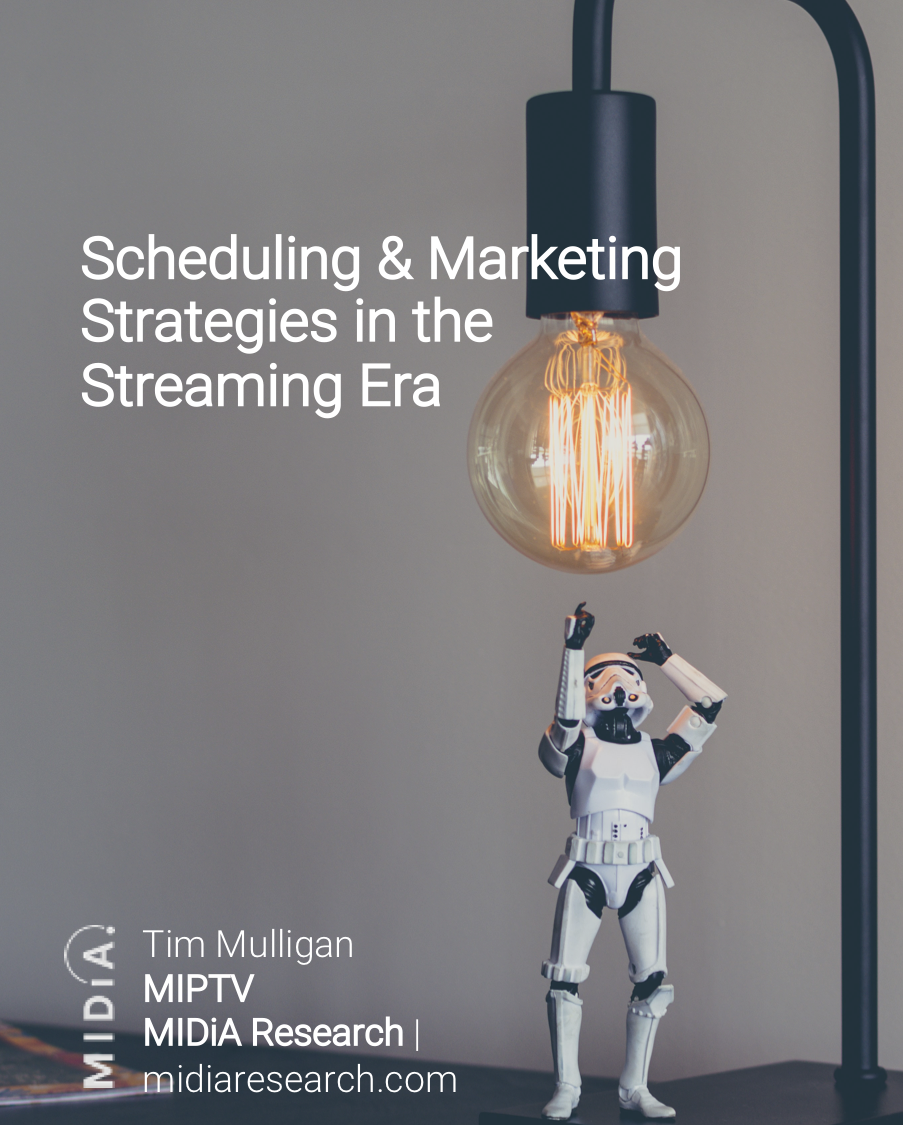 Cover image for Scheduling & Marketing Strategies in the Streaming Era