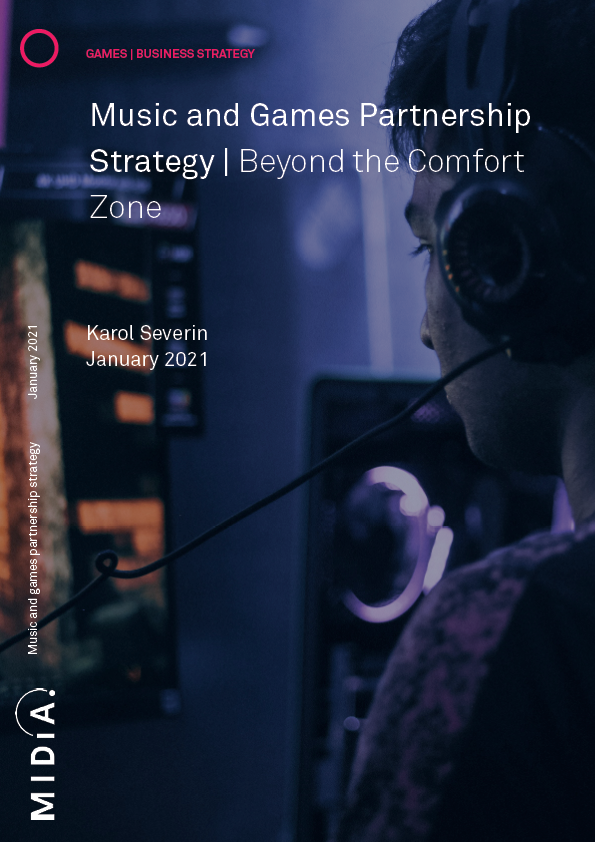 Cover image for Music and Games Partnership Strategy