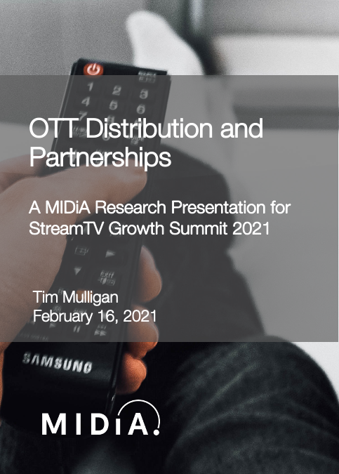Cover image for OTT Distribution and Partnerships