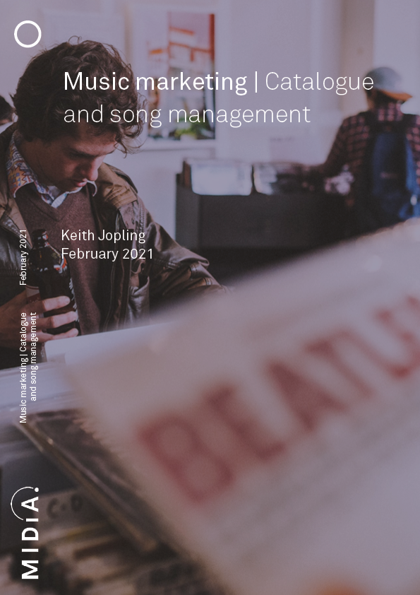 Cover image for Music marketing