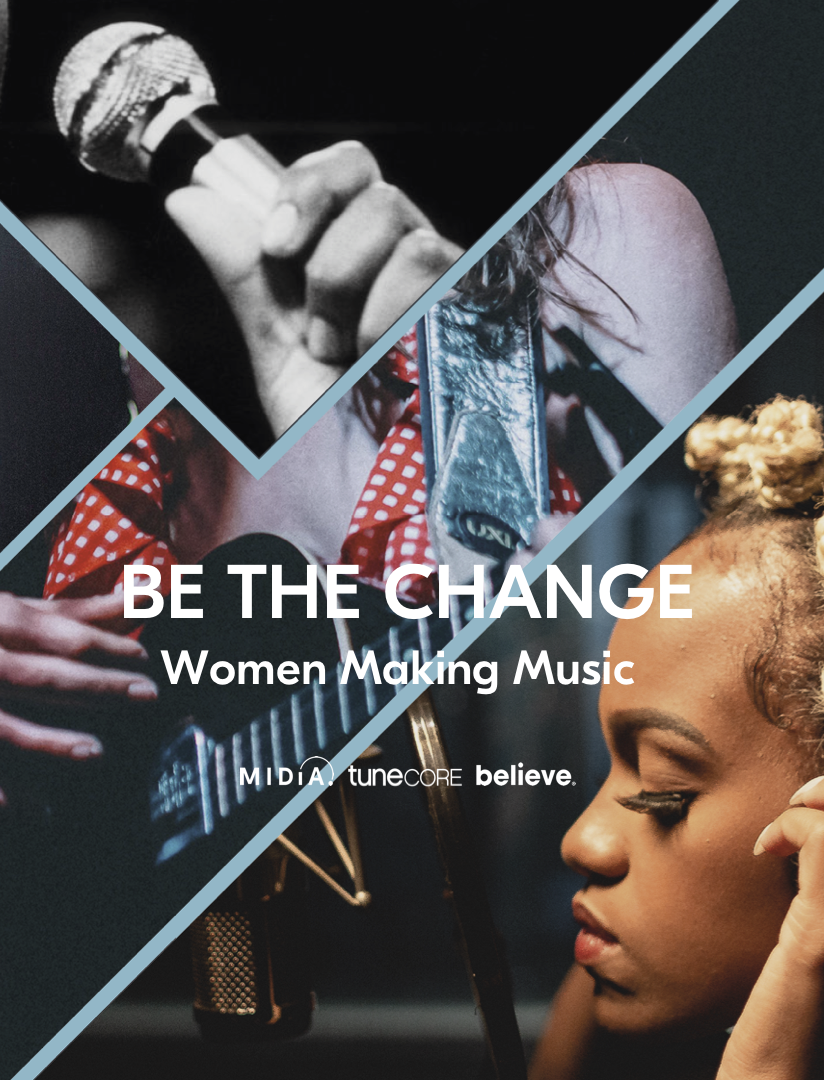 Cover image for BE THE CHANGE - Women Making Music