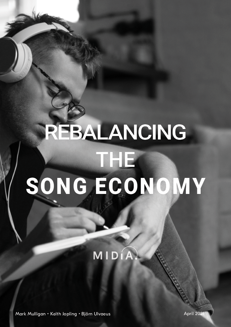 Cover image for Rebalancing the Song Economy