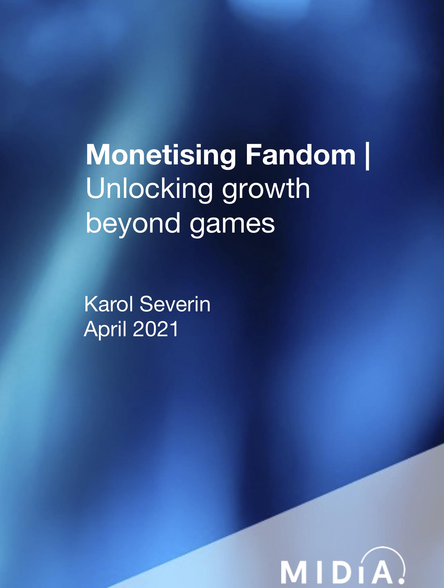 Cover image for Monetising Fandom