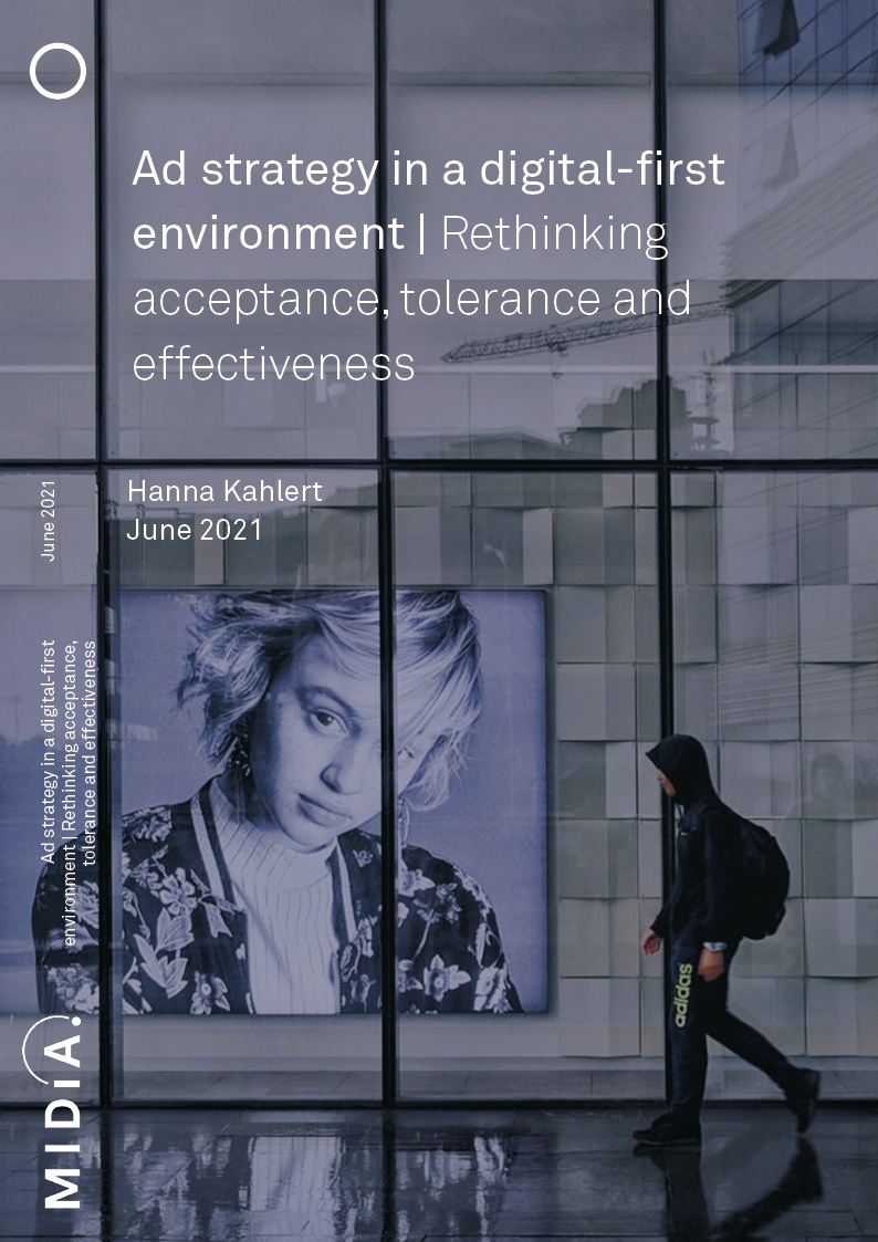Cover image for Ad strategy in a digital-first environment