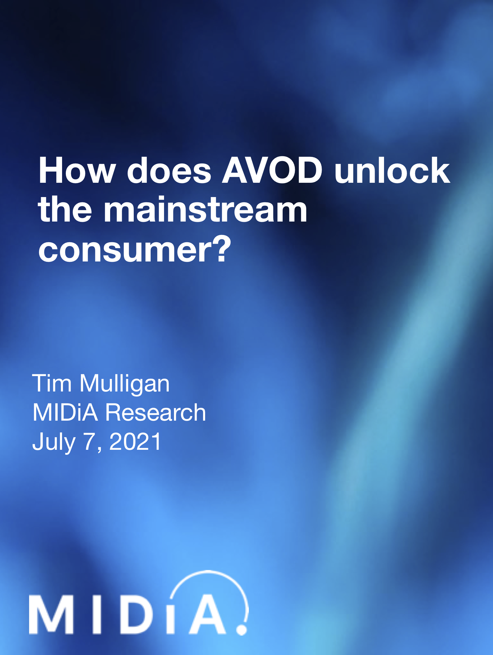 Cover image for How does AVOD unlock the mainstream consumer