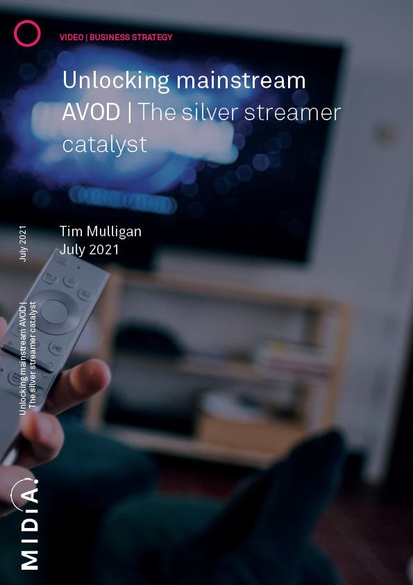 Cover image for Unlocking mainstream AVOD