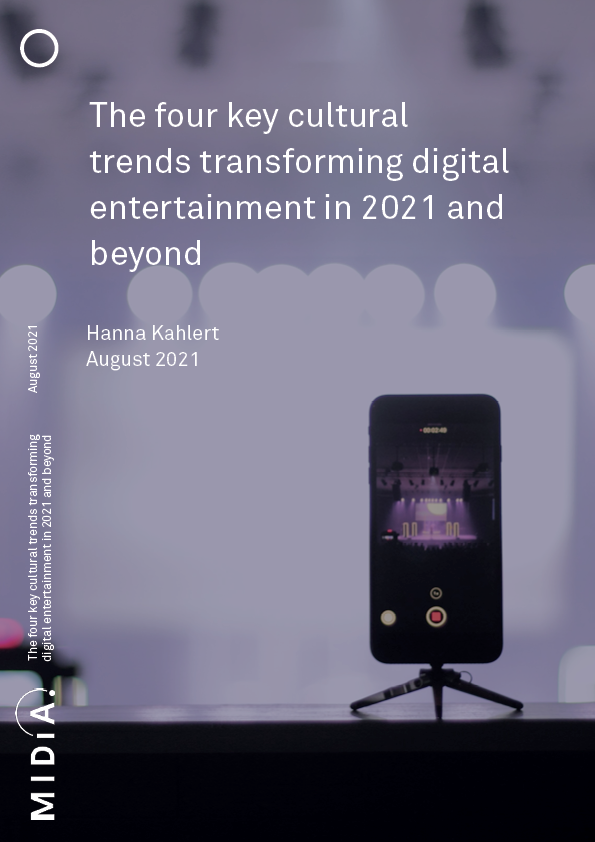 Cover image for The four key cultural trends transforming digital entertainment in 2021 and beyond
